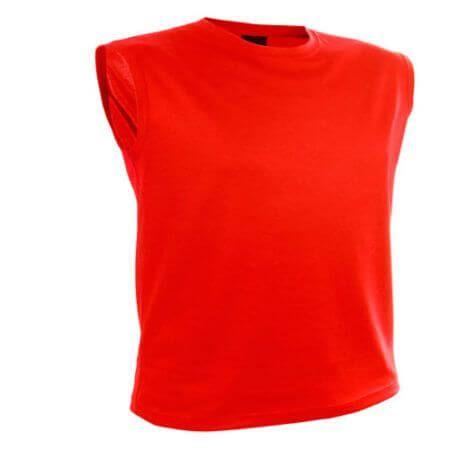 Camiseta técnica sin mangas.