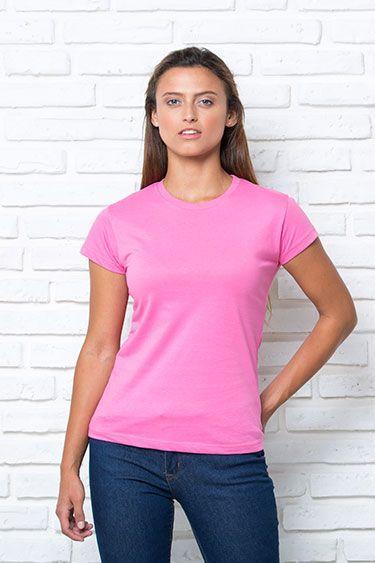 Camiseta mujer punto liso