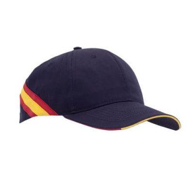 Gorra con bandera de España