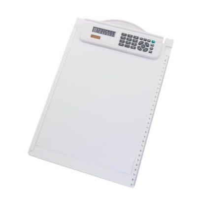 carpeta con calculadora