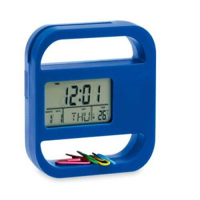 reloj digital de escritorio