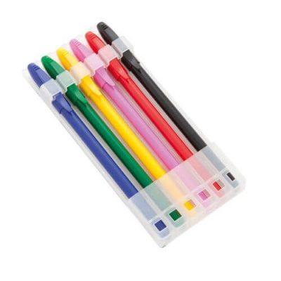 set de 6 bolígrafos publicitario