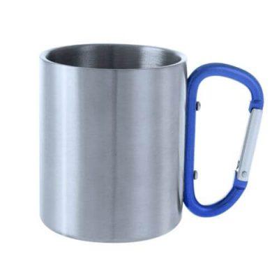 taza con asa mosquetón