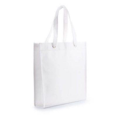 bolsa publicidad blanca