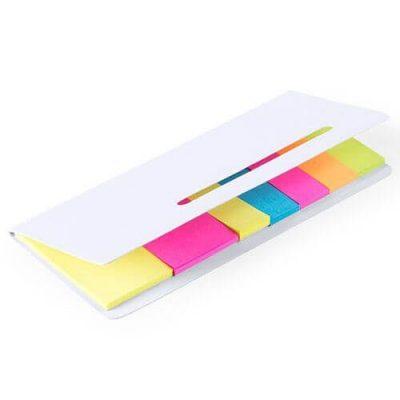 bloc de notas adhesivas para publicidad