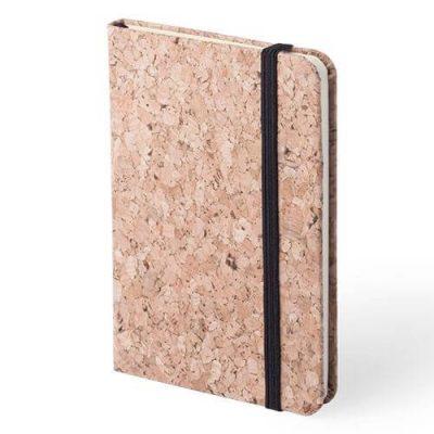 bloc de notas de corcho natural