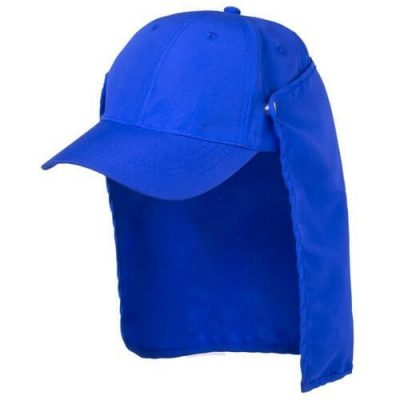 gorra con protector para el cuello