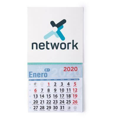 calendario imán personalizable