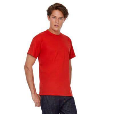 camiseta hombre algodón