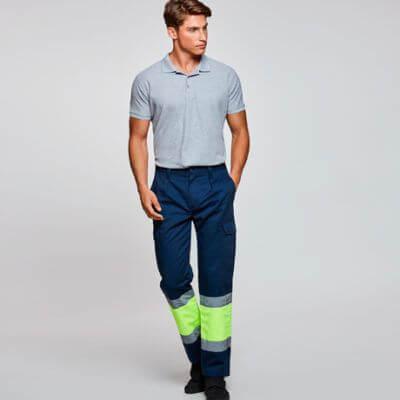 Pantalón largo de alta visibilidad