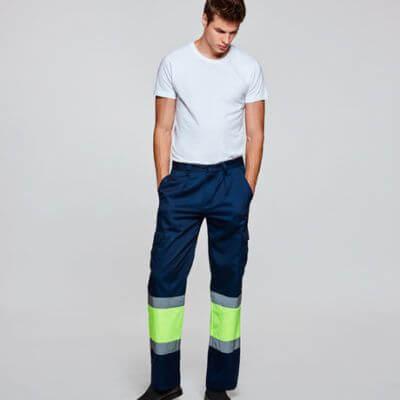 Pantalón alta visibilidad personalizable