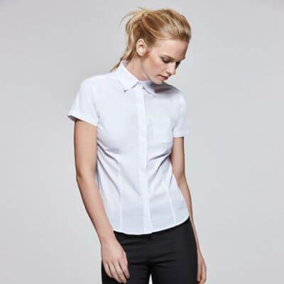 camisas de trabajo bordadas