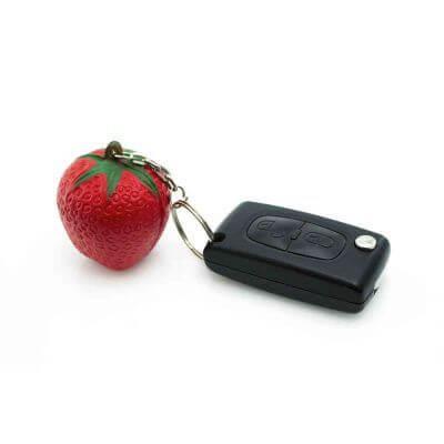 llaveros fruta merchandising
