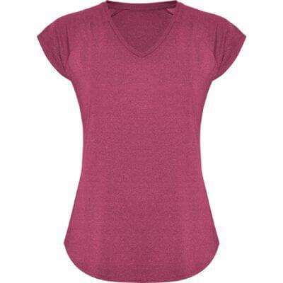 Camiseta técnica cuello pico