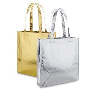 Bolsas doradas y plateadas personalizadas