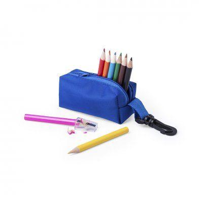 Estuche con lápices