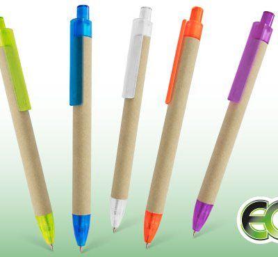 Bolígrafos de cartón