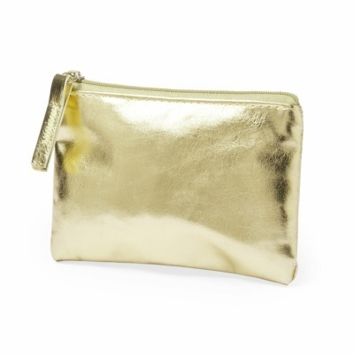 Monedero dorado personalizados